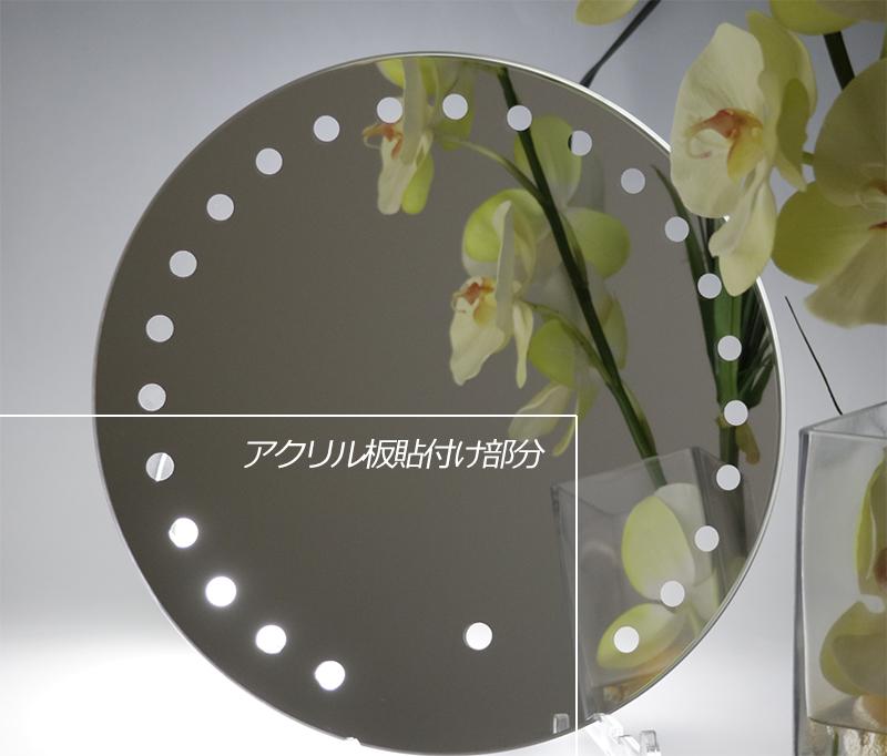 部分透明加工した鏡はどんなところで使われているか?